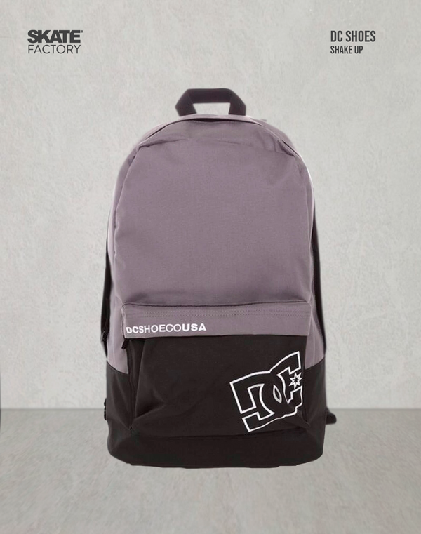 MOCHILA DC SHOES BACKPACK SHAKE UP 2 GRIS NEGRO