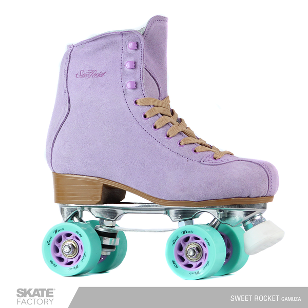 PATINES QUADS DAMA SWEET ROCKET MORADO