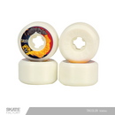 LLANTAS PARA PATINETA URETANO RATA WHEELS  55MM BLANCO AMARILLO