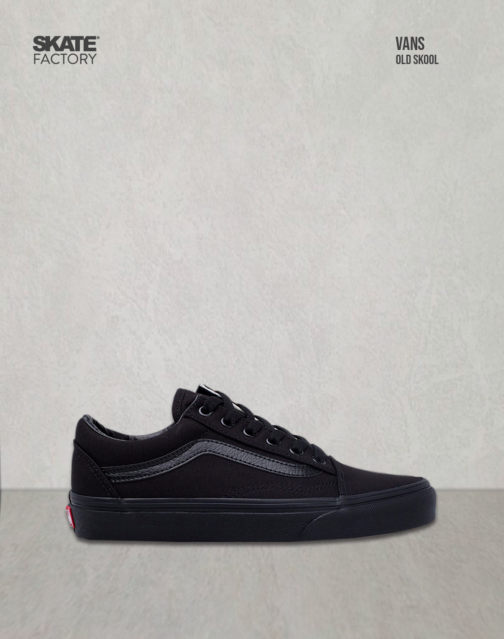 Rebajar Ojalá Martin Luther King Junior  VANS TENIS UNISEX OLD SKOOL NEGRO – Skate Factory