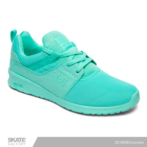 DC SHOES HEATHROW TENIS DAMA VERDE