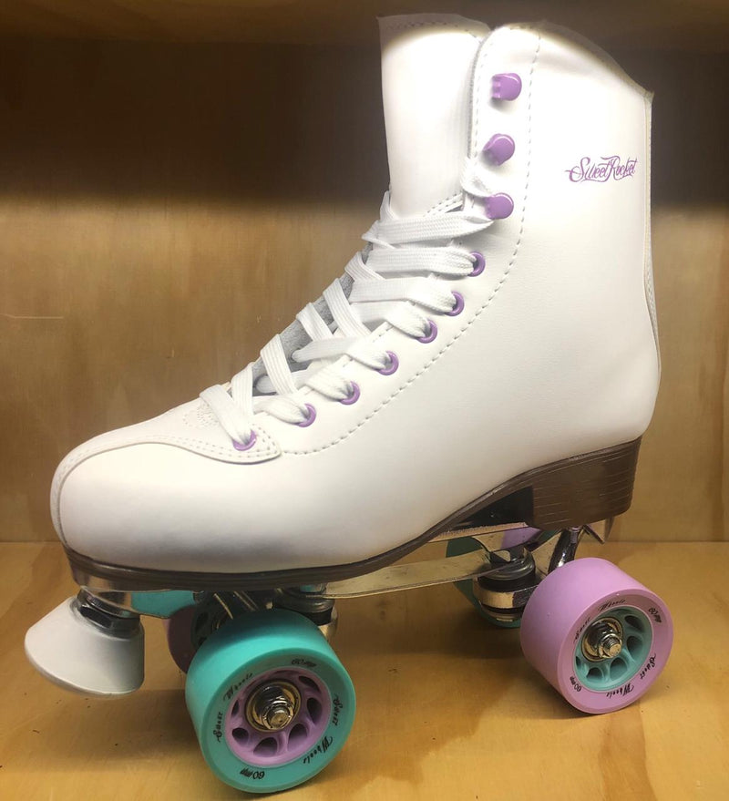 PATINES QUADS DAMA SWEET ROCKET BLANCO