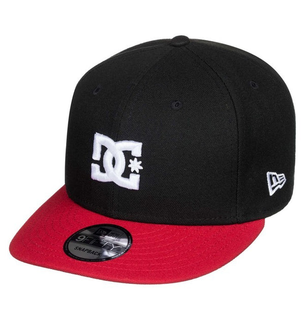 GORRA SNAPBACK CABALLERO DC SHOES EMPIRE FIELDER NEGRO