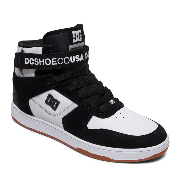 DC SHOES PENSFORD HI TOP TENIS CABALLERO NEGRO