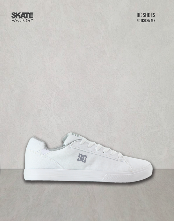 DC SHOES TEXTIL NOTCH TENIS CABALLERO  BLANCO GRIS