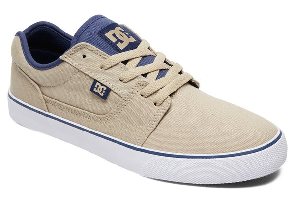 DC SHOES TONIK TENIS CABALLERO BEIGE BLANCO
