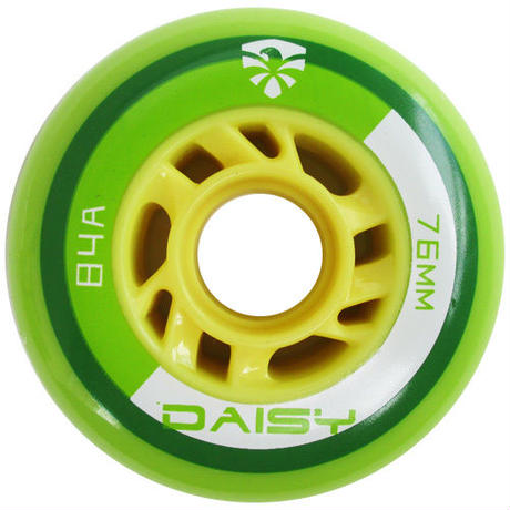 RUEDAS PARA PATINES SET DE 4PZ FLYING EAGLE DAISY 80MM 86A VERDE