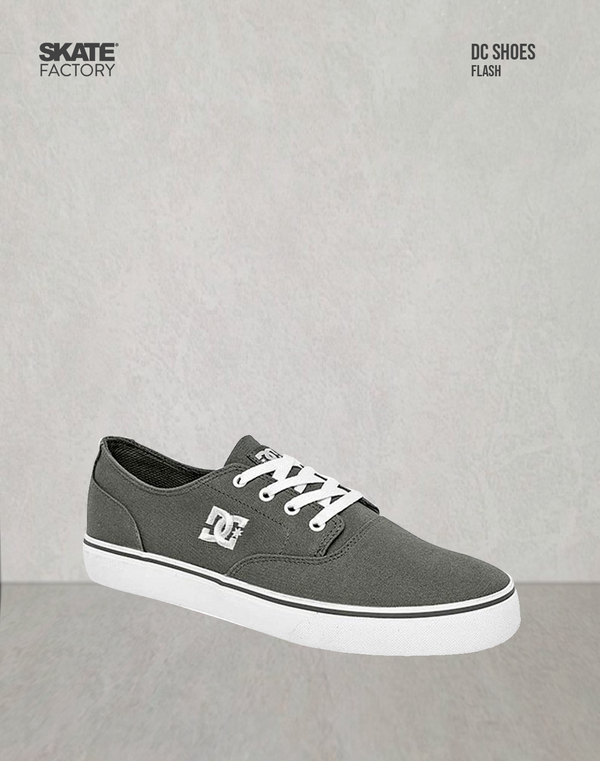 DC SHOES FLASH 2 CABALLERO GRIS BLANCO