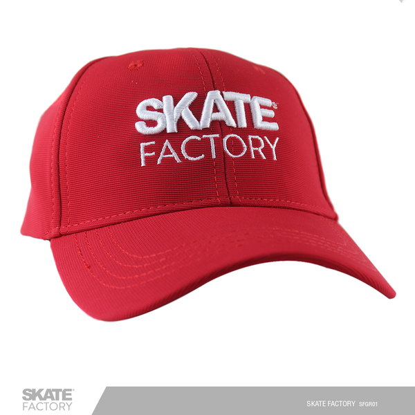 GORRA SKATE FACTORY DRIED FIT ROJO