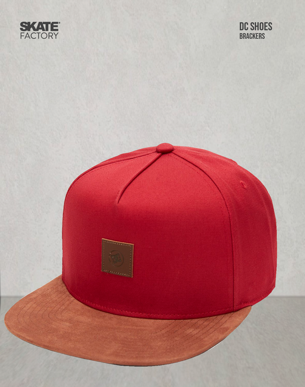 GORRA SNAPCBACK CABALLERO DC SHOES BRACKERS MARRÓN