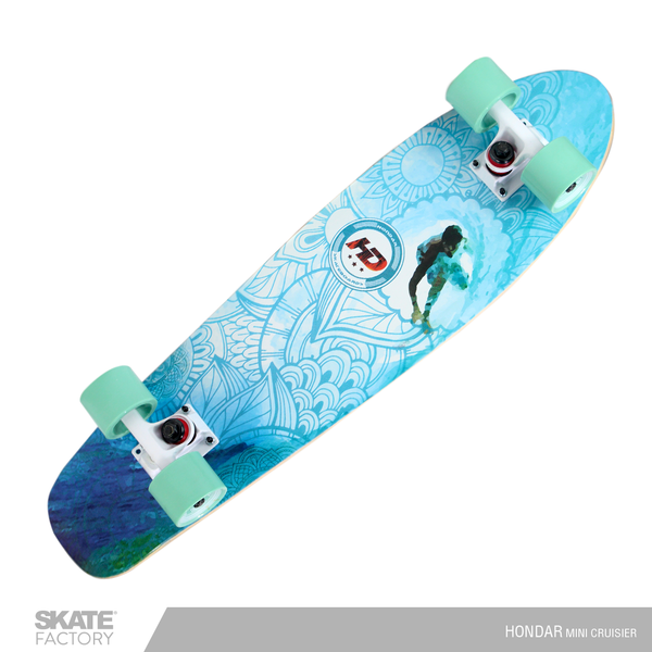 PATINETA MINI CRUISIER HONDAR PRINT SURF