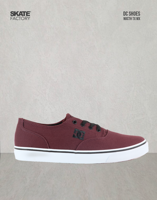 DC SHOES FLASH 2 TX MX CABALLERO VINO NEGRO