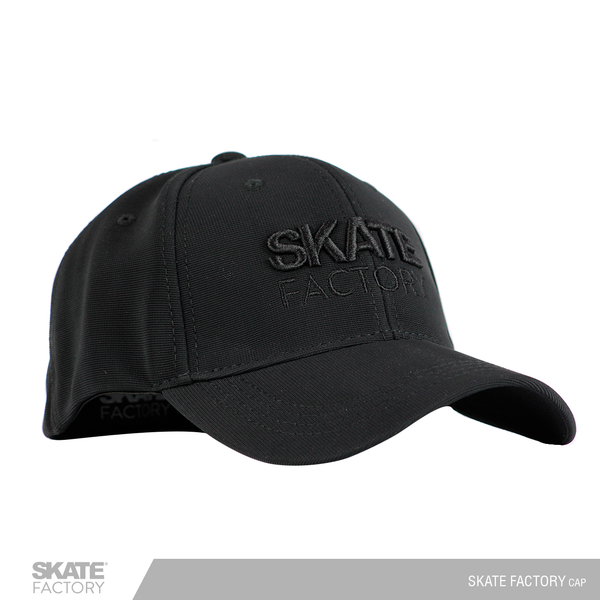 GORRA SKATE FACTORY DRIED FIT MONOCROMO NEGRO