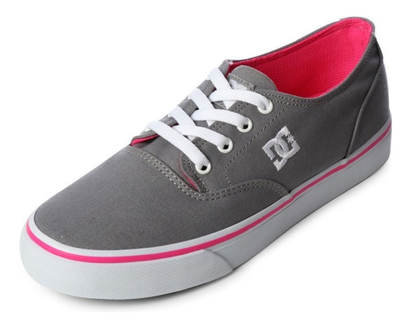DC SHOES FLASH 2 GRIS BLANCO ROSA