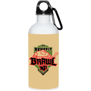Benefit Brawl 20 oz. Stainless Steel Water Bottle