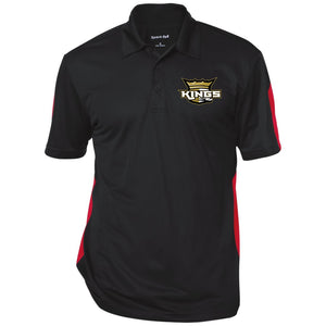 Kings Performance Textured Three-Button Polo
