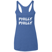 Philly Philly Ladies' Triblend Racerback Tank