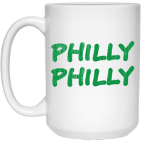 Philly Philly 15 oz. White Mug
