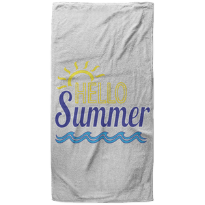 Hello Summer Towel - 37x74