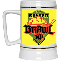 Benefit Brawl Beer Stein 22oz.