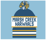 Marsh Creek Narwhals Knit Hat