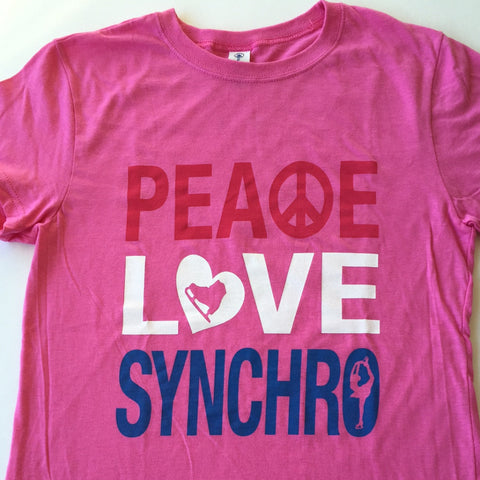 Peace Love Synchro - Junior Tee