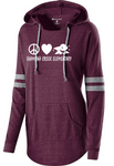 Ladies Peace Love Finn Pullover