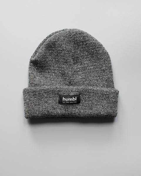 humbl - grey low key beanie