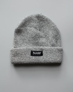 humbl - heather low key beanie