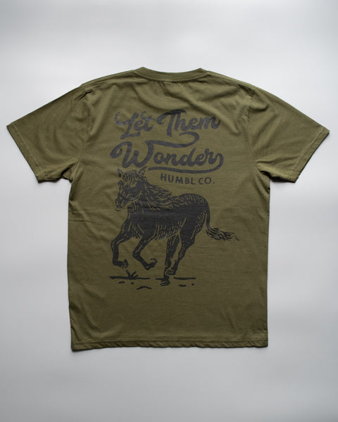 humbl - let them wonder t-shirt