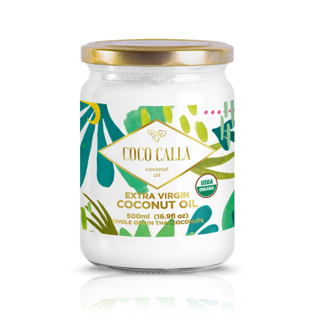 Extra Virgin Raw Organic Coconut Oil - Single Jar