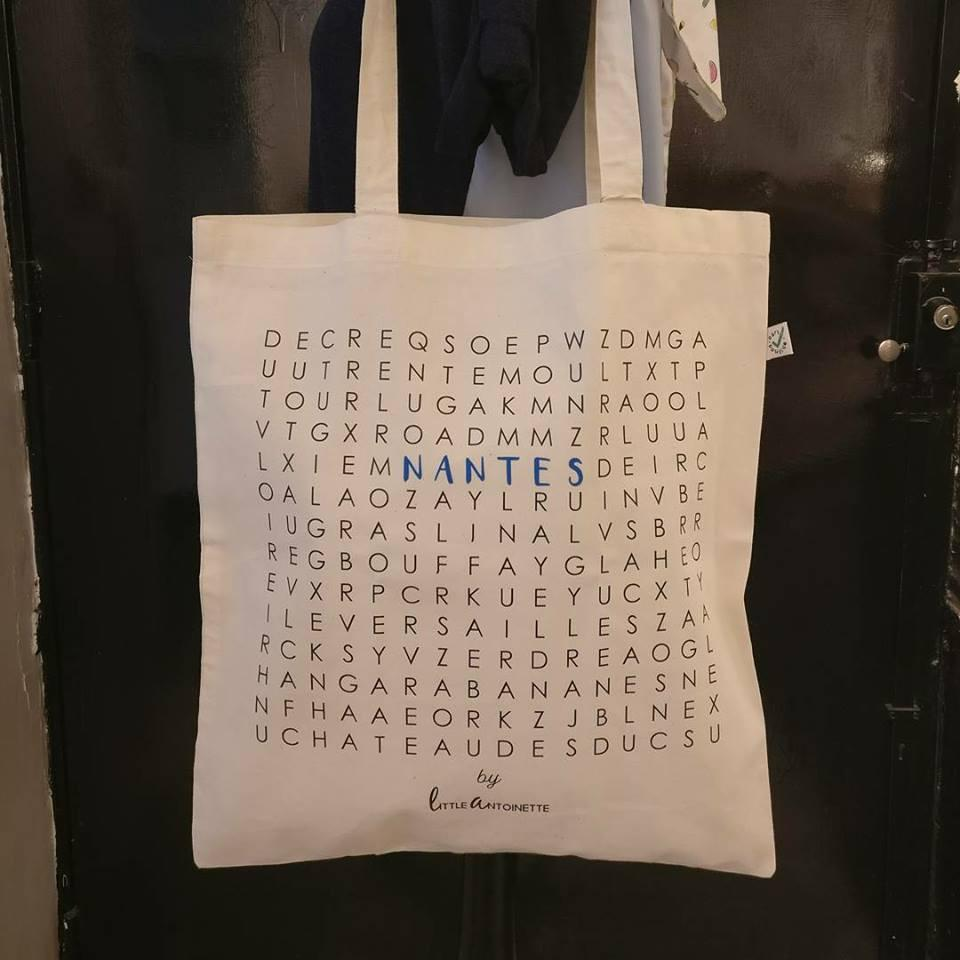 "Tote Bag City ""Nantes"" - Little Antoinette"