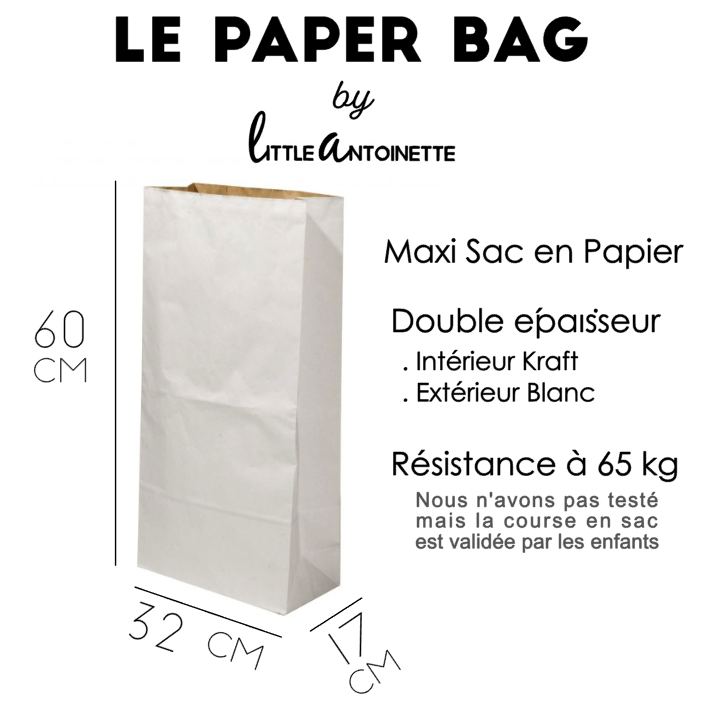 "Paper Bag ""Super Héros"" - Little Antoinette"