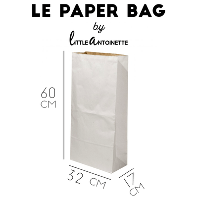 "Paper Bag ""Mon Sac de Linge Sale"" - Little Antoinette"