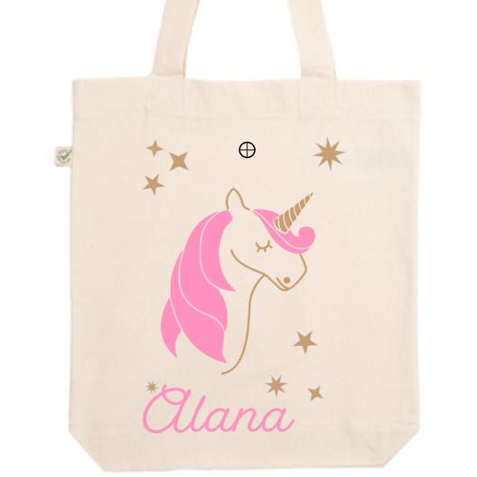 Tote Bag Licorne - Little Antoinette