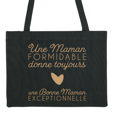 "Maxi Tote Bag - ""Maman Formidable"" - Little Antoinette"