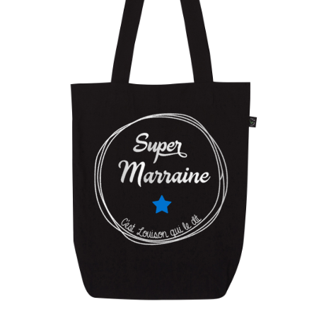 "Tote Bag ""Super Marraine"" - Little Antoinette"