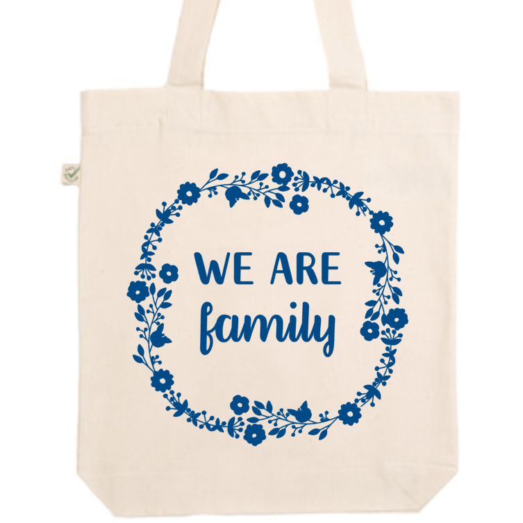 "Tote Bag ""We are Family"" - Little Antoinette"