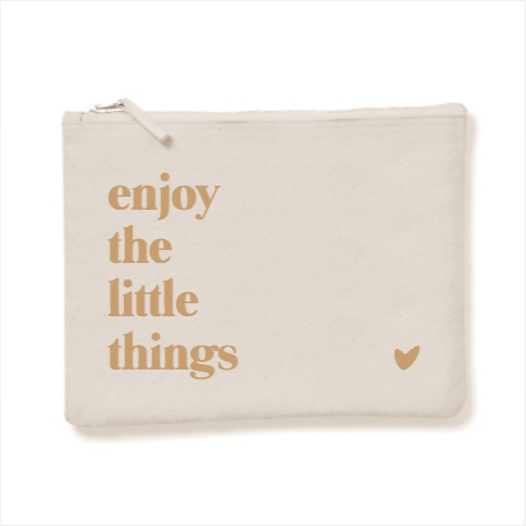 Pochette Enjoy the little things