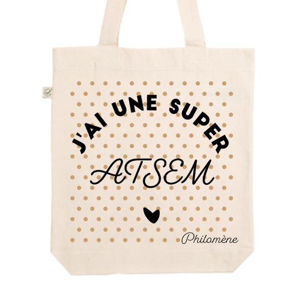 "Tote Bag ""Super ATSEM"" - Little Antoinette"