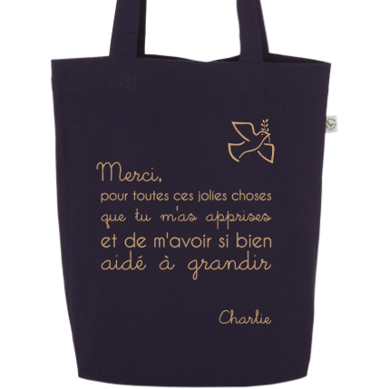 "Tote Bag ""Merci... "" - Little Antoinette"