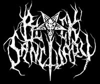 black sanctuary logo black metal goth metalheads metalcore streetwear