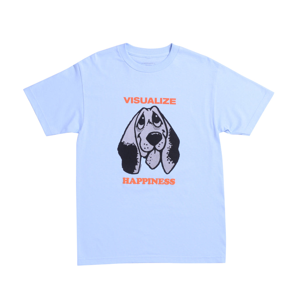 Happiness Tee (Powder Blue)