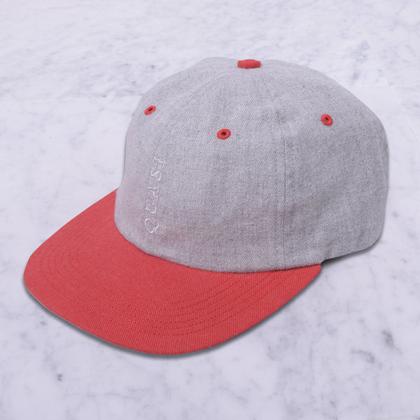 Trademark Cap (Grey/Red)