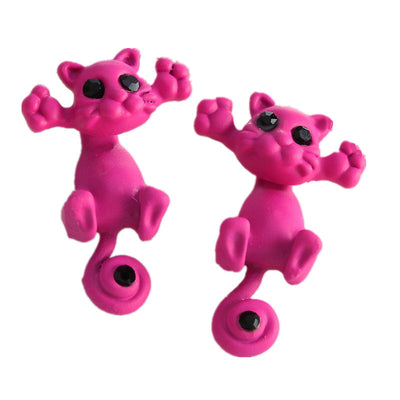 Cool Cat  Earrings For The Cat Loving Women