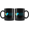 Joyful Heart Mug - Black