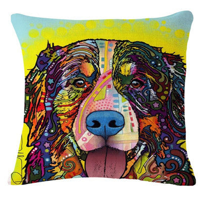 Dog Printed Pillow Covers