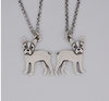 Boston Terrier Vintage Necklace