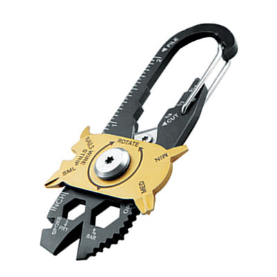 20 In 1 EDC Outdoor Multi Tool Stainless Steel Keychain