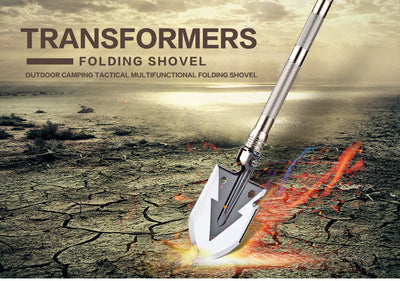 Multifunction Outdoor Survival Shovel